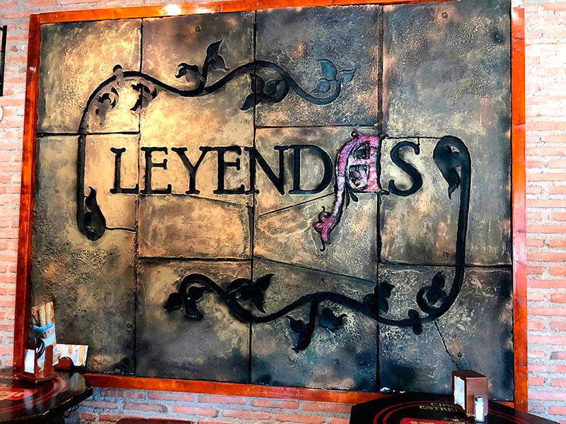 ▷ Restaurante Leyendas - Menu Diario y Carta 【912165333】